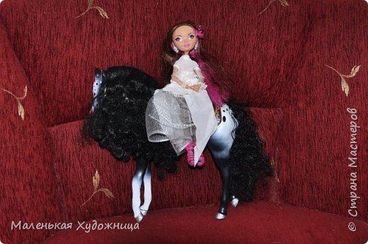 Привет! Я хочу показать наряд Белой Королевы из Алисы в стране чудес. Он состоит из кофты и юбки. фото 2