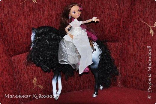 Привет! Я хочу показать наряд Белой Королевы из Алисы в стране чудес. Он состоит из кофты и юбки. фото 3