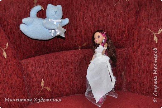 Привет! Я хочу показать наряд Белой Королевы из Алисы в стране чудес. Он состоит из кофты и юбки. фото 5