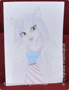 Привет! Я хочу показать вам 3 моих любимых рисунка! Эти 2 рисунка мы рисовали в школе. фото 3