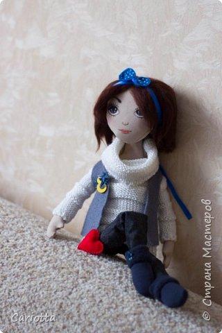 новая куколка, подарок для девушки брата. от него с любовью, так сказать)) фото 1