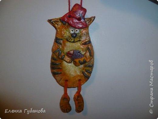 Привет стране мастеров! Решила поделиться своими работами... Это  жадный кот-мукосолька, делался в подарок маме. фото 9