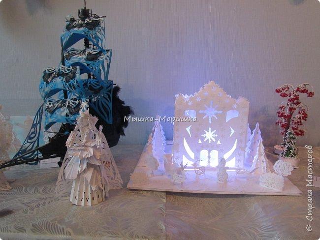 """Работу изготавливали мы с ученицей Юлечкой (13 лет) для выставки """"Зима идет- праздники ведет"""" фото 5"""