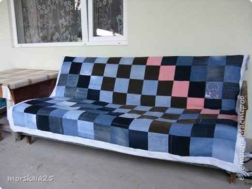 Покрывало для летнего дивана. фото 1