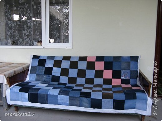 Покрывало для летнего дивана. фото 2