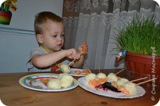 В кафе привлекло мое внимание детское меню, красивое оформление и интересная подача блюд.  И тут пришла идея: приготовить с сыном вместе и разыграть сказку..... фото 10
