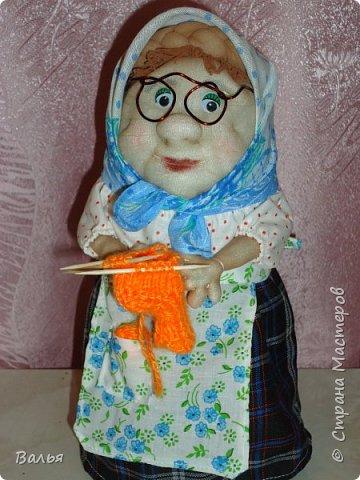 Эту куклу я подарила своей маме в День Матери. фото 1
