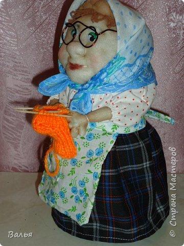 Эту куклу я подарила своей маме в День Матери. фото 3