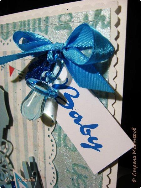 Вот такие две открыточки, для тех, у кого мужское прибавление в семействе)))) фото 12