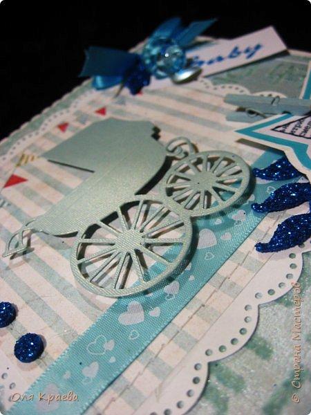 Вот такие две открыточки, для тех, у кого мужское прибавление в семействе)))) фото 13