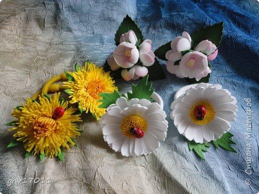 Доброго времени суток , мастера и мастерицы! За окном зима, а у меня распускаются цветы. Уже хочется весны и тепла. фото 3