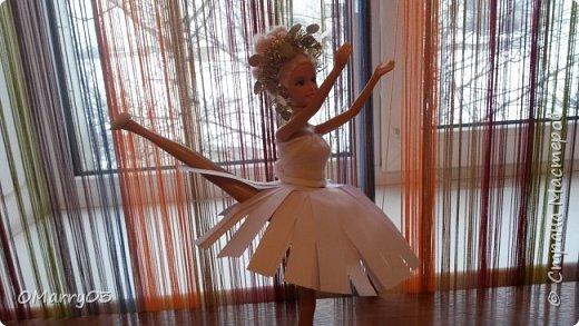 """Привет! Я участвую в конкурсе """"Героиня книги"""". (Ссылка; stranamasterov.ru/note/871455) Мне нужно было сделать костюм балерины из сказки """"Оловянный солдатик"""". Вот что получилось. (Извините, что фото перевернуто) фото 2"""