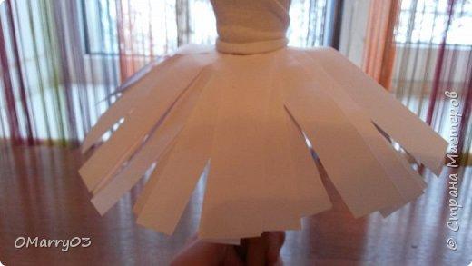 """Привет! Я участвую в конкурсе """"Героиня книги"""". (Ссылка; stranamasterov.ru/note/871455) Мне нужно было сделать костюм балерины из сказки """"Оловянный солдатик"""". Вот что получилось. (Извините, что фото перевернуто) фото 3"""