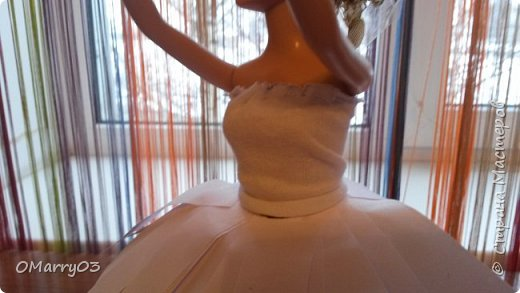 """Привет! Я участвую в конкурсе """"Героиня книги"""". (Ссылка; stranamasterov.ru/note/871455) Мне нужно было сделать костюм балерины из сказки """"Оловянный солдатик"""". Вот что получилось. (Извините, что фото перевернуто) фото 4"""