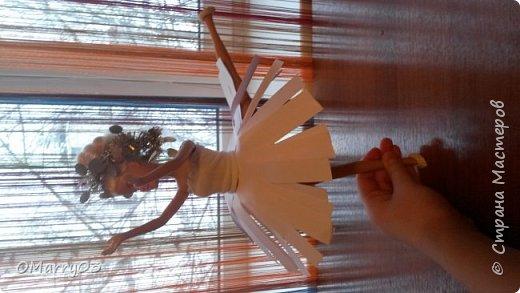 """Привет! Я участвую в конкурсе """"Героиня книги"""". (Ссылка; stranamasterov.ru/note/871455) Мне нужно было сделать костюм балерины из сказки """"Оловянный солдатик"""". Вот что получилось. (Извините, что фото перевернуто) фото 1"""