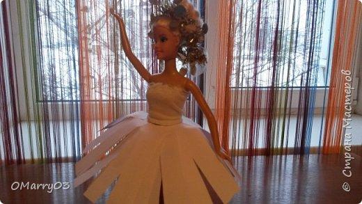 """Привет! Я участвую в конкурсе """"Героиня книги"""". (Ссылка; stranamasterov.ru/note/871455) Мне нужно было сделать костюм балерины из сказки """"Оловянный солдатик"""". Вот что получилось. (Извините, что фото перевернуто) фото 7"""