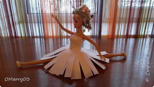 """Привет! Я участвую в конкурсе """"Героиня книги"""". (Ссылка; stranamasterov.ru/note/871455) Мне нужно было сделать костюм балерины из сказки """"Оловянный солдатик"""". Вот что получилось. (Извините, что фото перевернуто) фото 8"""