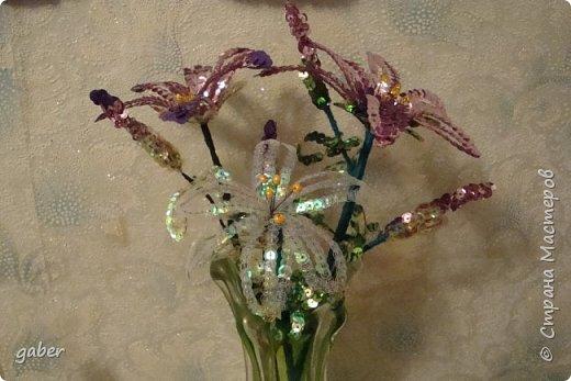 лилии из пайеток фото 1