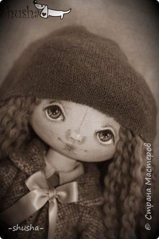 текстильная коллекционная кукла  Лея фото 4