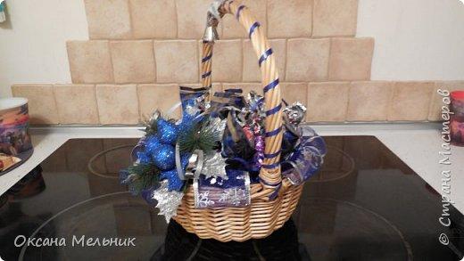 Новогодние корзиночки. фото 5