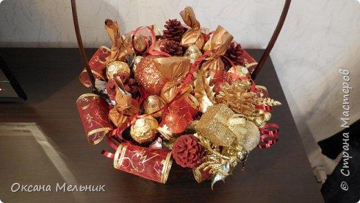 Новогодние корзиночки. фото 2