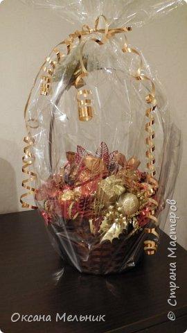 Новогодние корзиночки. фото 3
