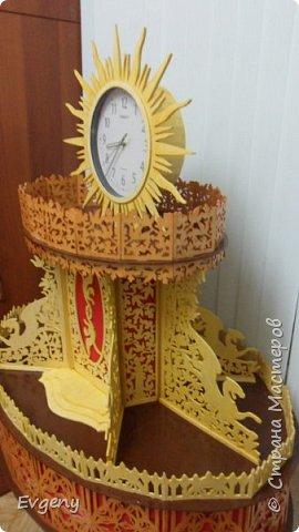 """Часы """"Солнце"""" фото 2"""