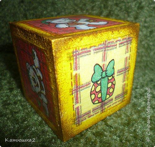 Ну вот как и обещала, новые кубики. На этом фото два кубика вам уже знакомы, а два других -новые. Итак... фото 11