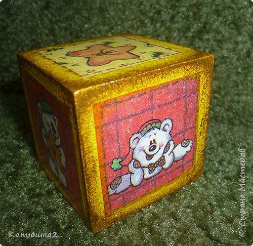 Ну вот как и обещала, новые кубики. На этом фото два кубика вам уже знакомы, а два других -новые. Итак... фото 6