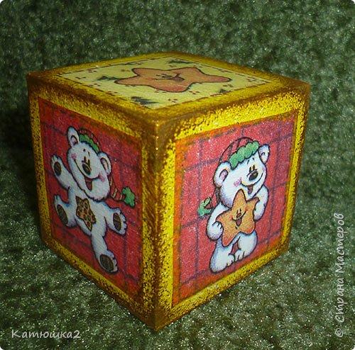 Ну вот как и обещала, новые кубики. На этом фото два кубика вам уже знакомы, а два других -новые. Итак... фото 7