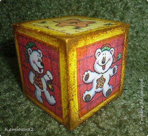 Ну вот как и обещала, новые кубики. На этом фото два кубика вам уже знакомы, а два других -новые. Итак... фото 8