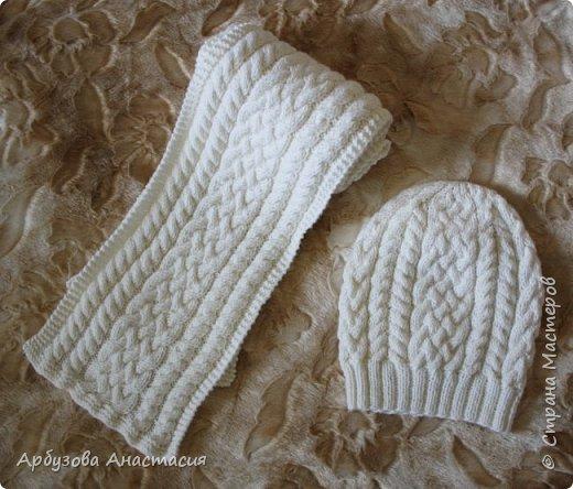 Вязание спицами шапки и береты