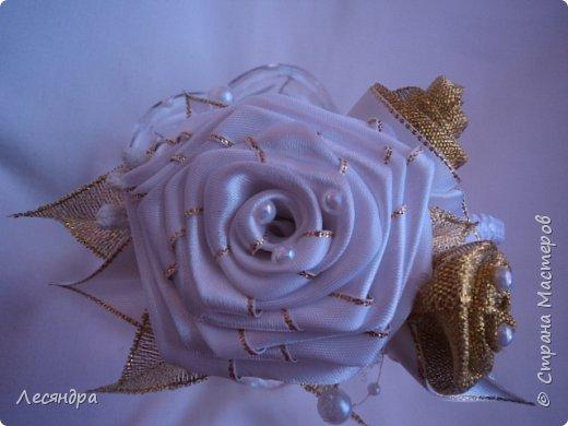 Ободок с розами. Создано по мотивам работ с интернета. фото 1