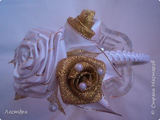 Ободок с розами. Создано по мотивам работ с интернета. фото 2