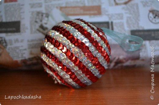 В этом году решила сделать подарки своими руками, вот такие шарики я подарила бабушке на Новый год фото 4