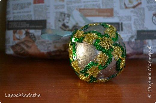 В этом году решила сделать подарки своими руками, вот такие шарики я подарила бабушке на Новый год фото 8