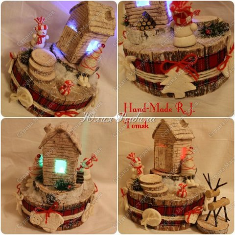 """Продолжение моих сладких творений и покажу немного новогодних не сладких работ. 3. Королевна! Куколка с конфетками. Куколкой можно играть, когда конфеты слопаны! Конфеты """"фундук в шоколадной глазури"""" и """"Raffaello"""".  фото 11"""