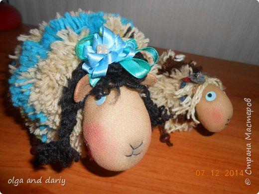 Пусть овечки принесут вам удачу, здоровье и богатство