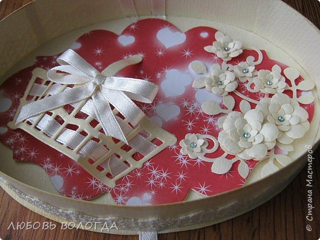 Заказали конвертик для денежки в подарок на свадьбу, а я решила сделать коробочку))) фото 4