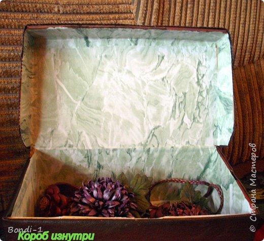 Декор предметов Поделка изделие Коробчонка для украшений Картон Кожа фото 6