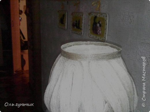 Мастер-класс Поделка изделие Моделирование конструирование Шпагатная вазочка Мк Кофе Мешковина Проволока Шпагат фото 12