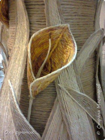 Мастер-класс Поделка изделие Моделирование конструирование Шпагатная вазочка Мк Кофе Мешковина Проволока Шпагат фото 18