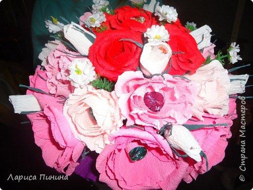 Букет роз племяшке на день рождения. фото 1