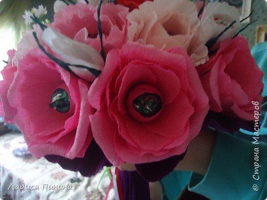 Букет роз племяшке на день рождения. фото 3