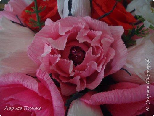 Букет роз племяшке на день рождения. фото 5