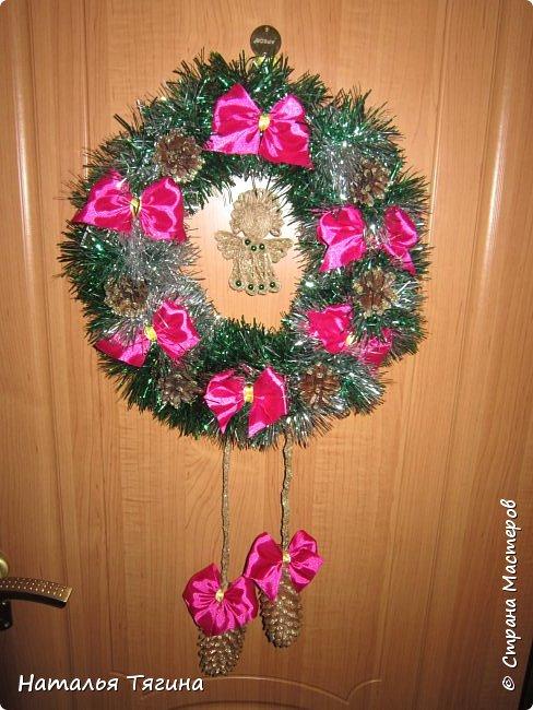 Новогодние и Рождественские венки)) фото 1