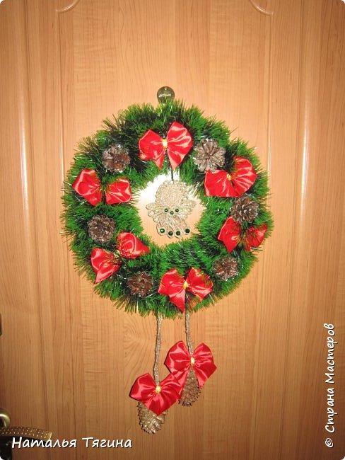 Новогодние и Рождественские венки)) фото 2