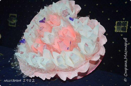 Это сердце сделала сынуле для школьной выставки на День Влюбленных фото 2