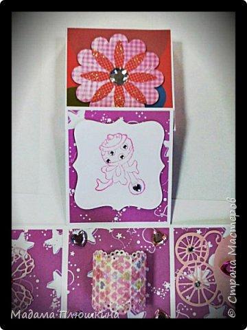 денежная коробочка на рождение девочки фото 6