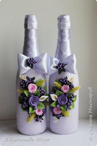 Сиреневая свадьба фото 3
